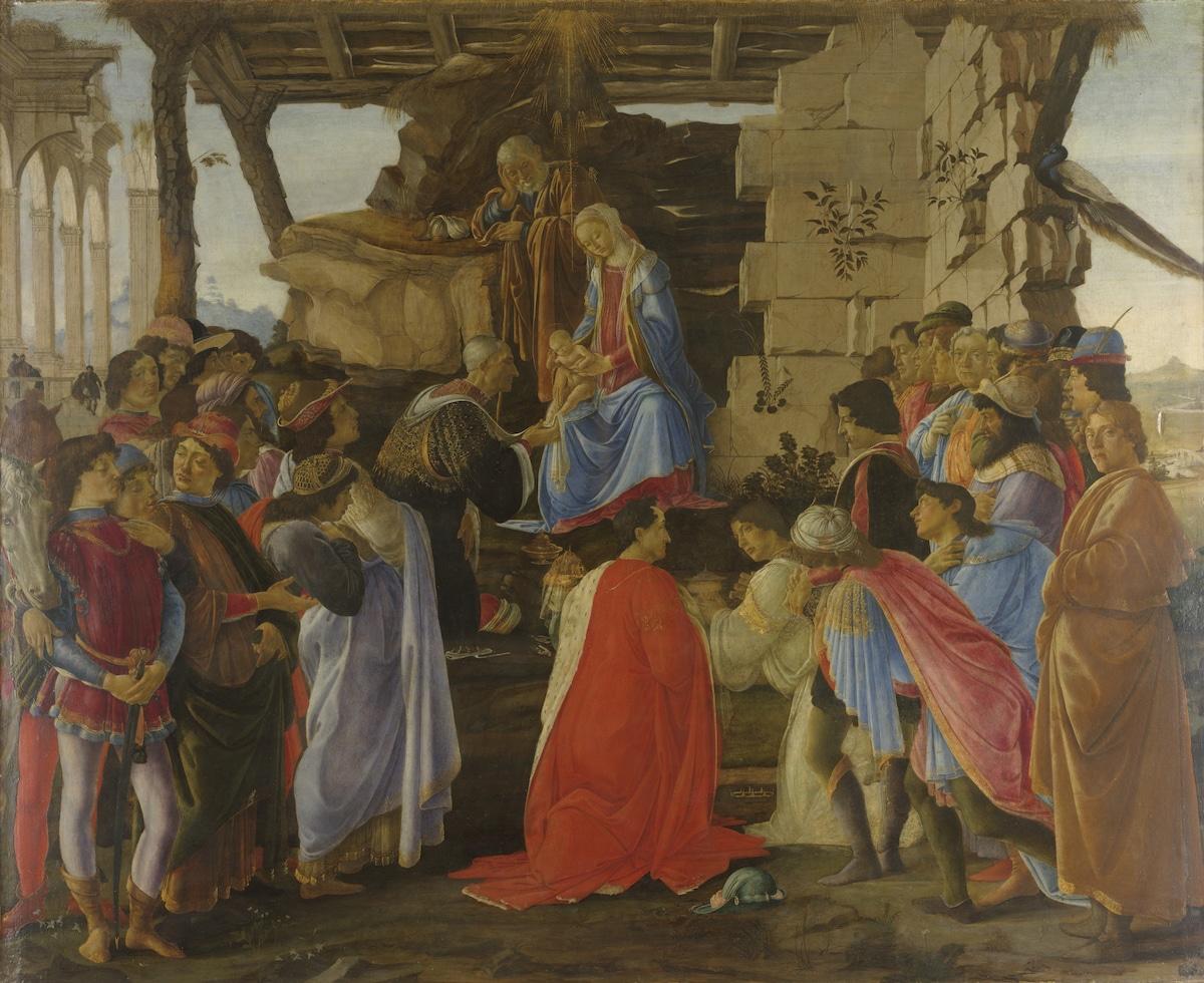 Sandro Botticelli Adoration of the Magi Painting