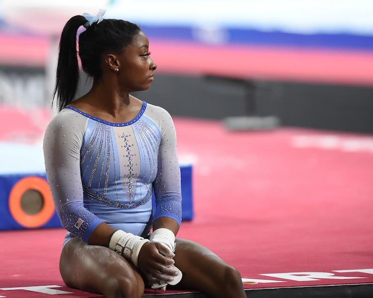 Simone Biles Instagram Post About Olympics