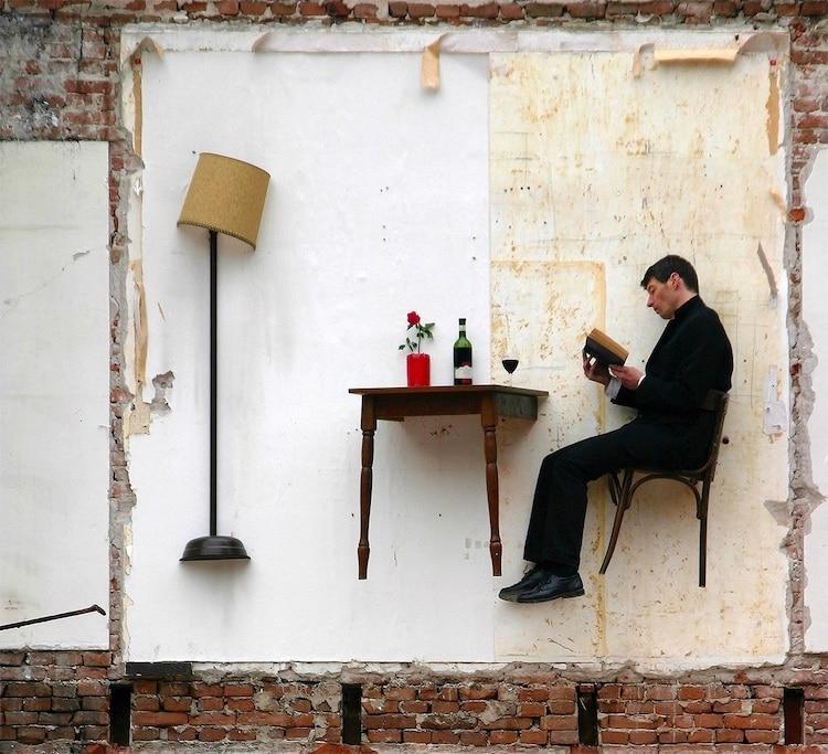 Artist Thierry Mandon Performance Art