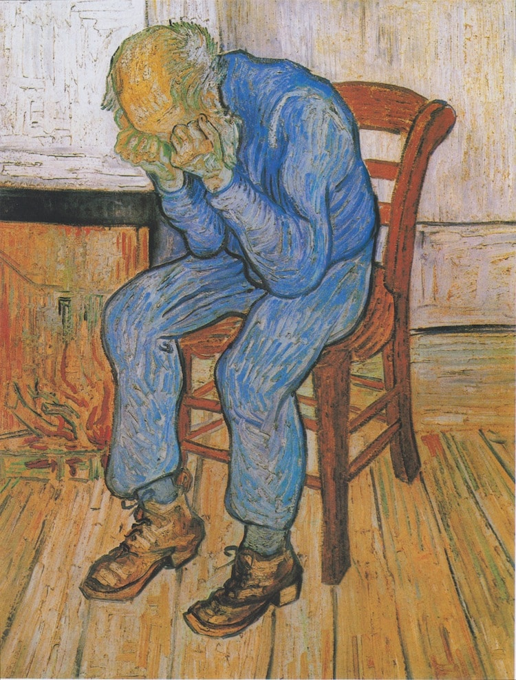 At the door of eternity Painting by Vincent van Gogh
