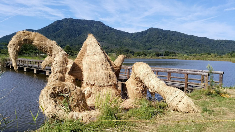 Wara Art Festival Straw Sculptures