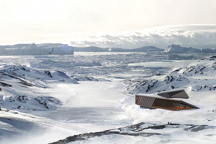 Dorte Mandrup Icefjord Centre