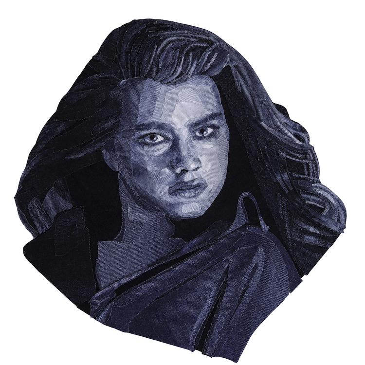 Denim Legends Portrait of Brooke Shields