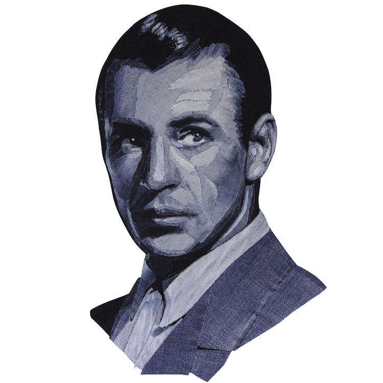 Denim Legends Portrait of Gary Cooper