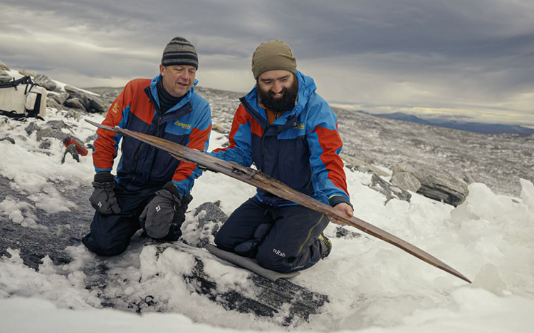 World's Oldest Pair of Skis Discovered by Researchers in Ice in Norway