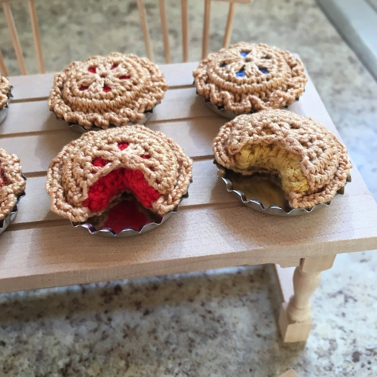 Crochet Food Art