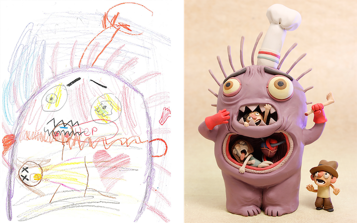 The Monster Project Aims To Help Young Kids Realize Power Of Imagination Without Rules Or Restrictions Elementary School Students Are Asked Draw A