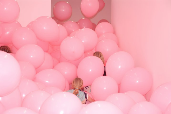 Massive Balloon Filled Rooms Turn Adults Into Kids Again