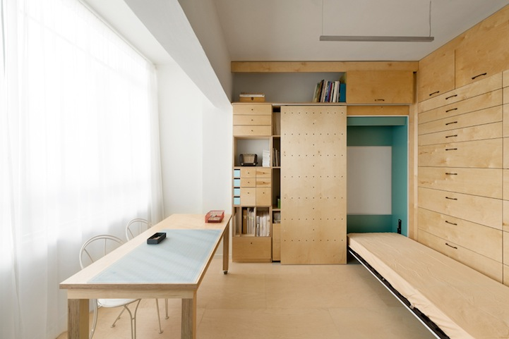Surprising Airy Artist Studio Feels Larger Than Only 18 Square Meters Download Free Architecture Designs Rallybritishbridgeorg