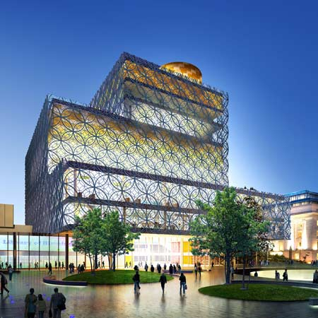 Modern Architecture Library modern architecture - library of birmingham: england