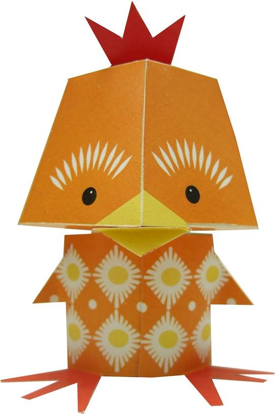 Mibo S Adorable Printable Paper Animals