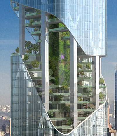 I Love Modern Architecture Green Dreams On Madison Square New York
