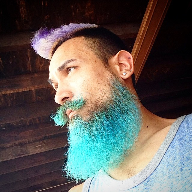 Men Are Dyeing Their Hair Bright Colors For The New Merman Hair Trend
