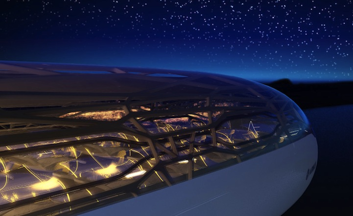 Cabin Of The Future Airbus 2050