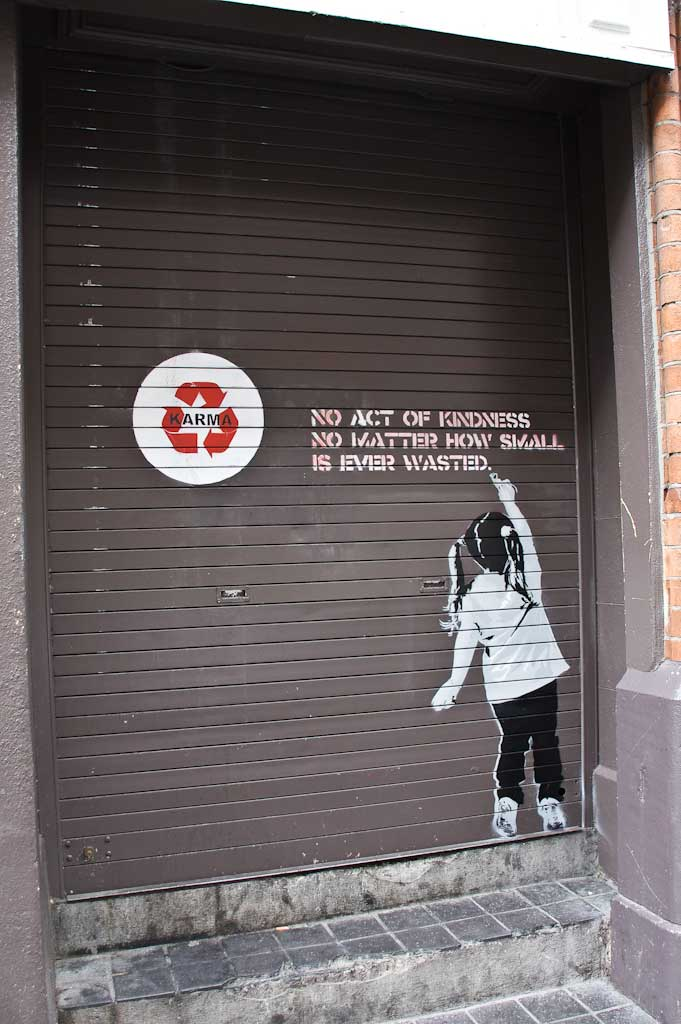 Urban Street Art Karma 2 Pieces