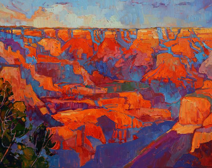 Energetic Landscape Paintings Portray Artist Erin Hanson S