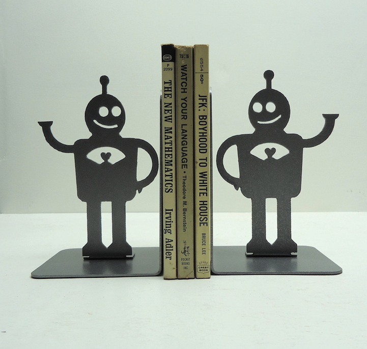 Creativebook Design:  Creative Book Ends To Brighten Your Day