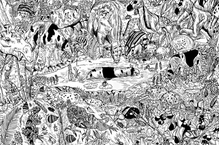 11-Year-Old Artist Creates Amazingly Detailed Drawings Of