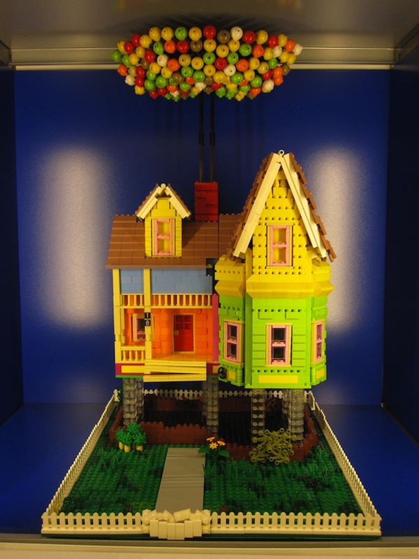 Pixar S Up House Created In Legos