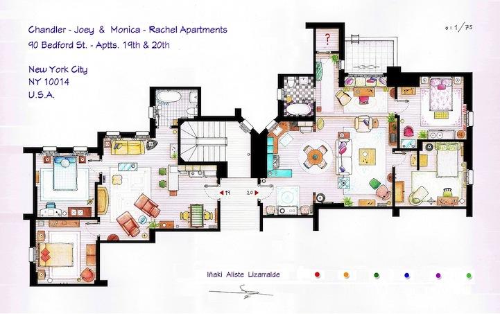 Sitcom house layout