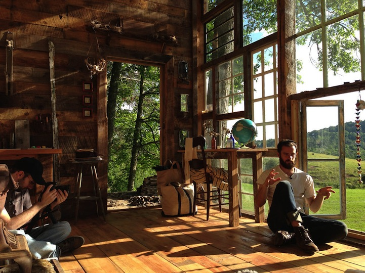Charming Cabin Built For 500 With Repurposed Windows