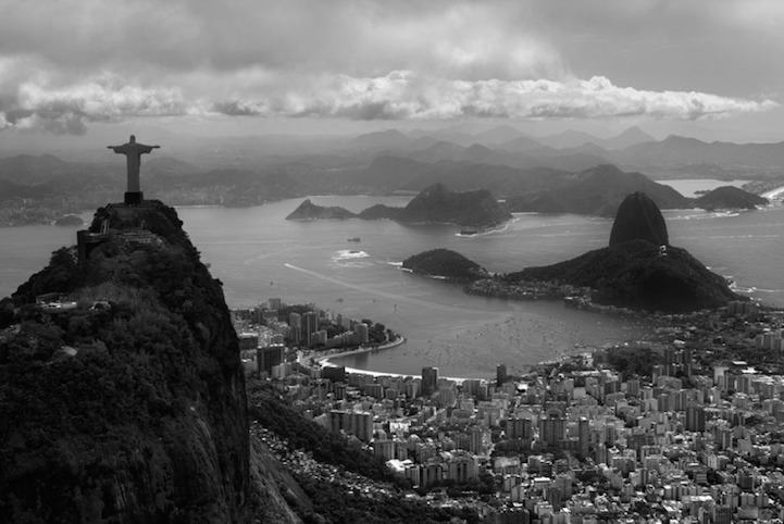 Intimate black and white photos capture the allure of brazil