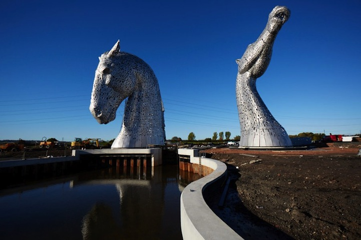 The Kelpies by Andy Scott