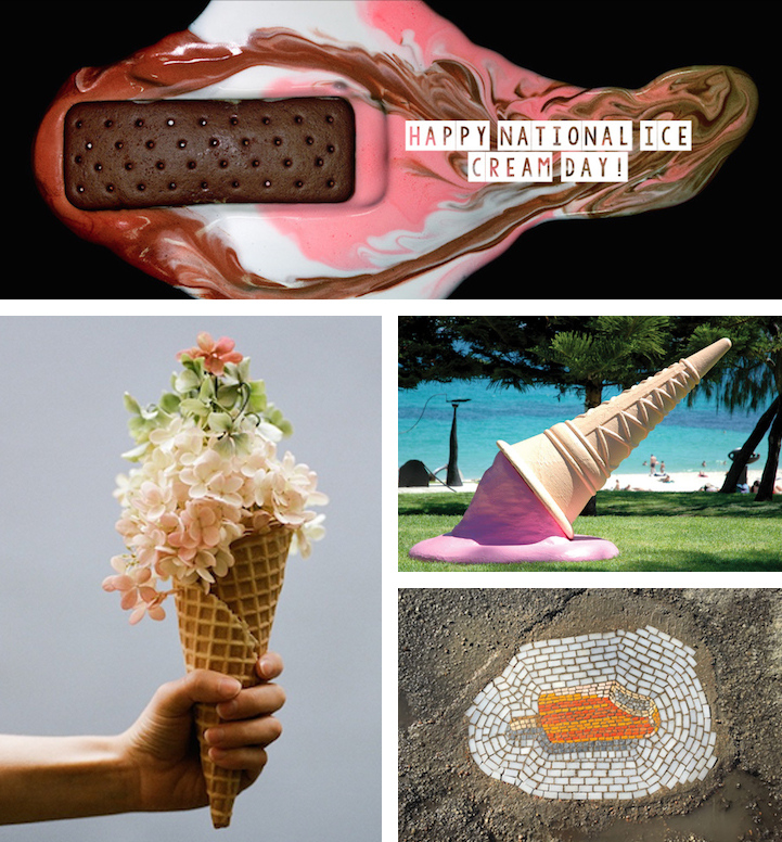 17 fun works of art inspired by ice cream for How to get a job at michaels craft store