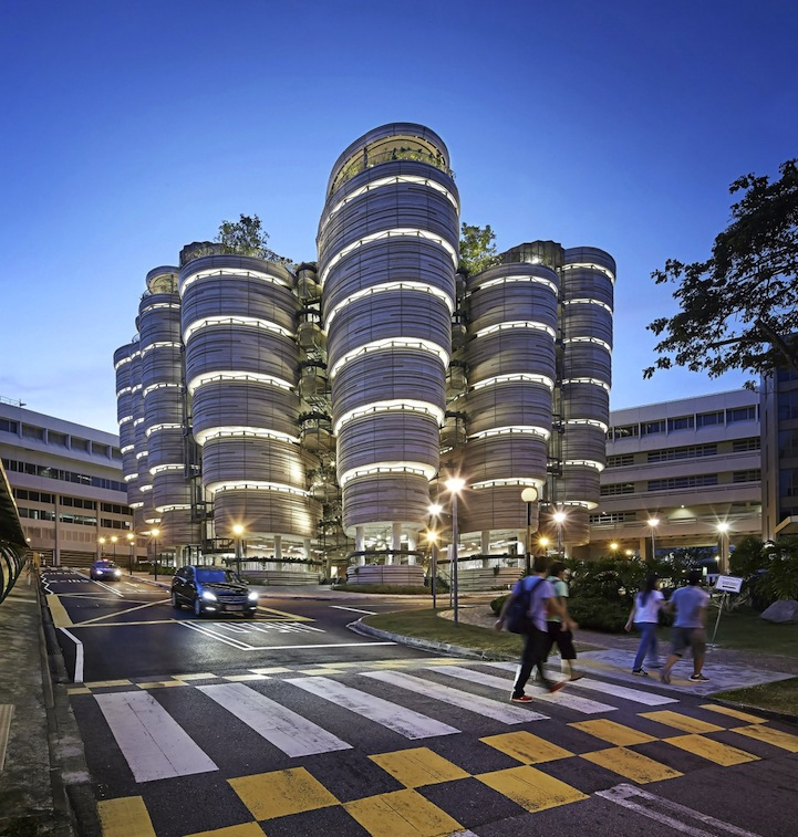 Home Design Expo Singapore: Innovative University Building In Singapore That Has No