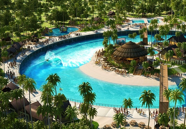 Kelly Slater S Water Park Generates Endless Waves For Surfers