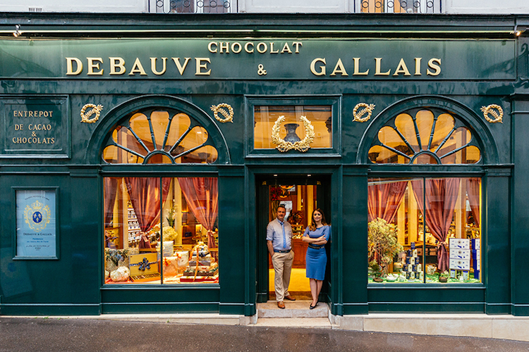 Two Century Old Chocolatier With Traditional French Design