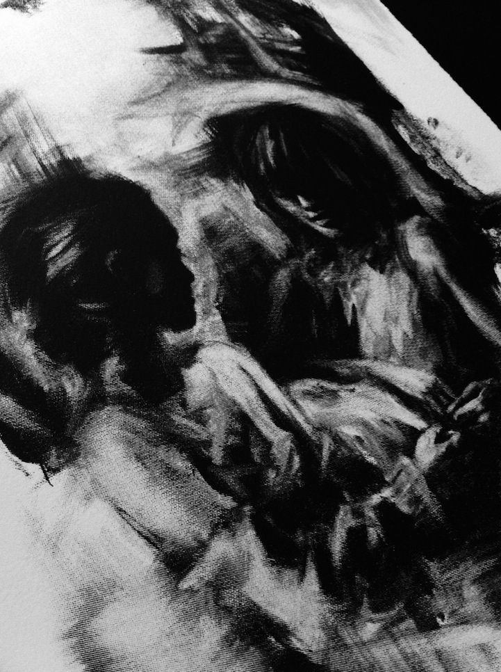Stunning Charcoal Drawings on Paper by Casey Baugh ... |Charcoal Art Drawings Music
