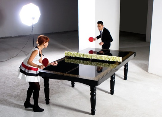 Excellent Ping Pong Dining Table By Hunn Wai Download Free Architecture Designs Aeocymadebymaigaardcom