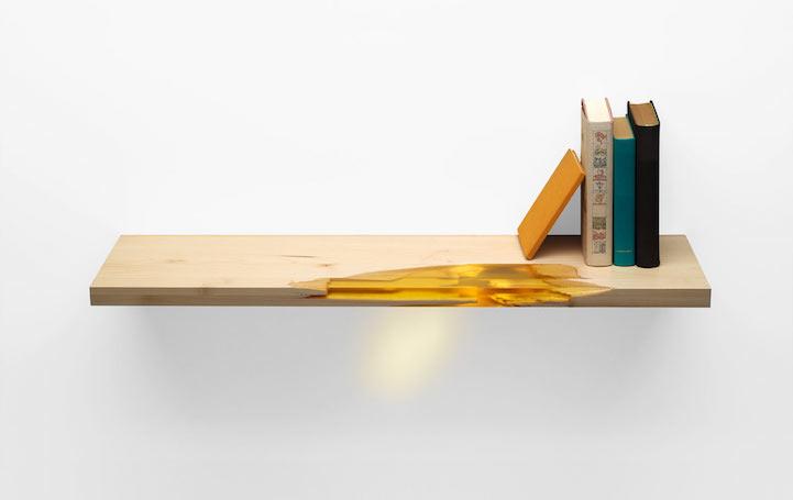 Eco Friendly Furniture Uses Glowing Bio Resin To Self