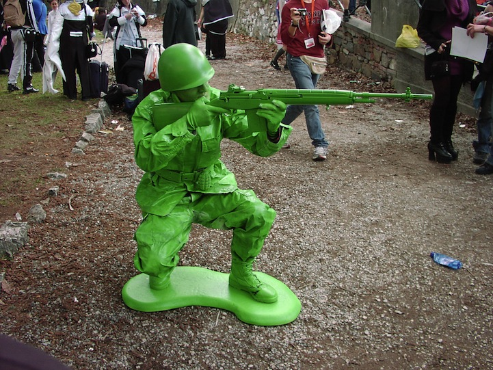 Dog Toy Soldier Costume