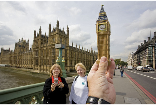 Replacing World Landmarks With Cheap Souvenirs 21 Photos