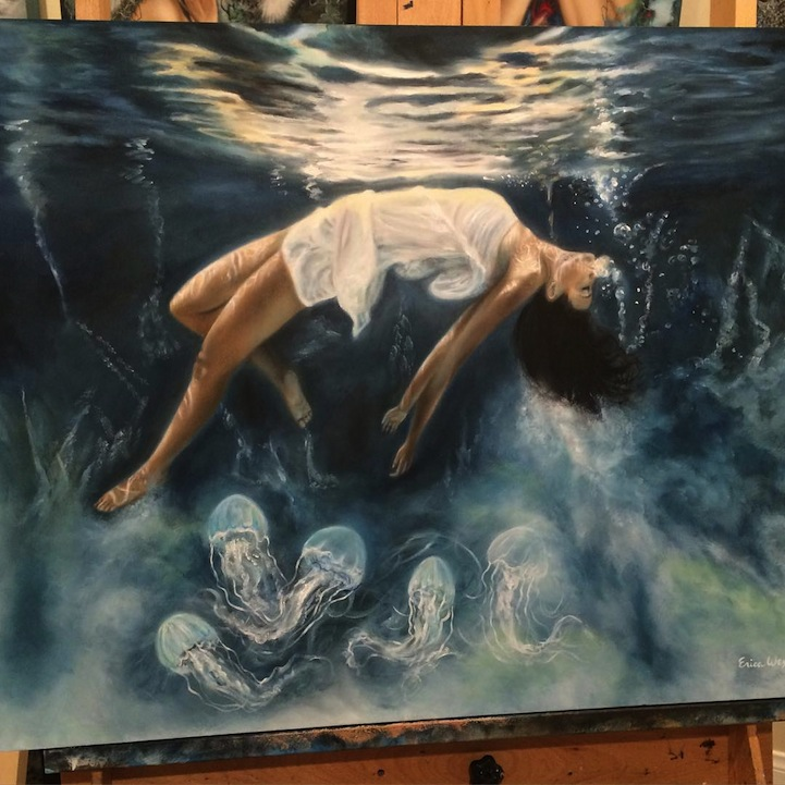 Artist Creates Fantastical Worlds By Quot Painting With Dreams Quot