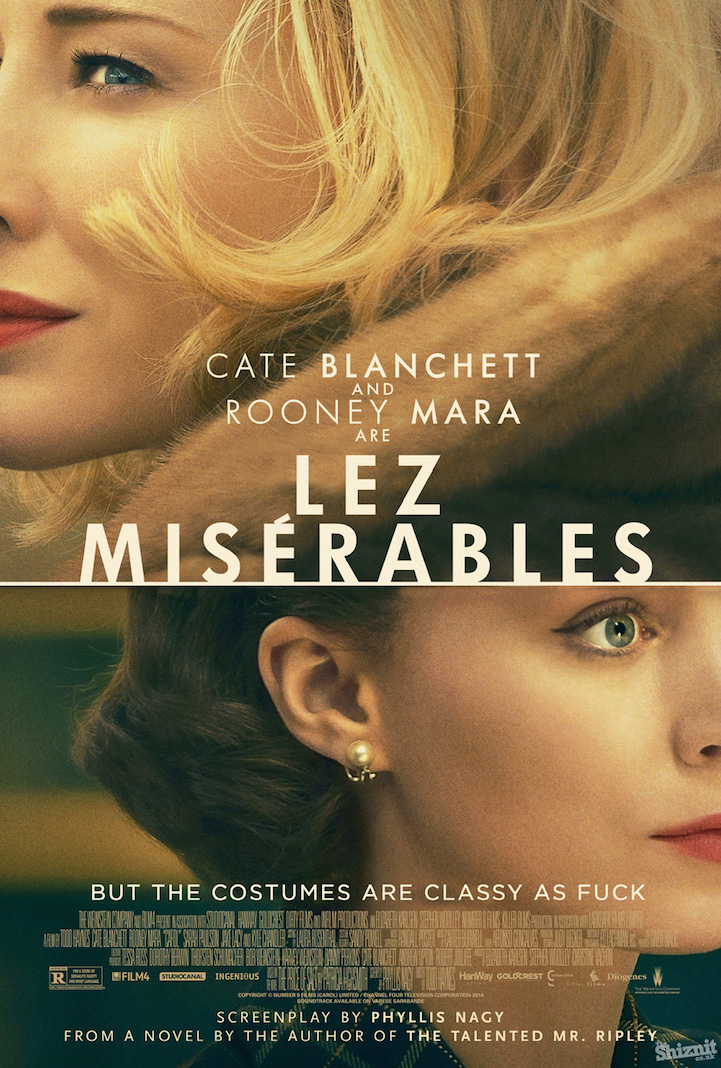 quothonestquot movie posters of 2016 oscarnominated films