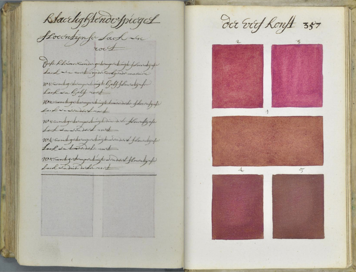 Extraordinary YearOld Encyclopedia Of Colors And Paint - This 800 page book listed every colour imaginable 271 years before pantone