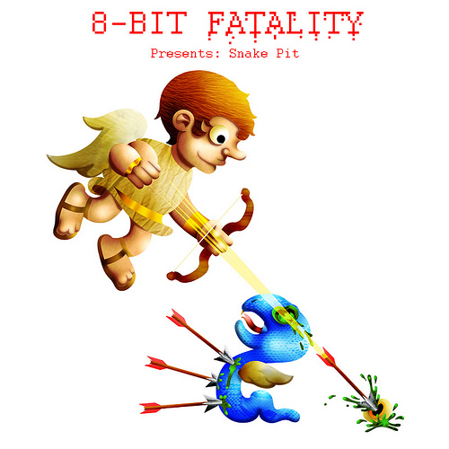 8 Bit Cartoon Characters : Bit fatalities a gory depiction of what really