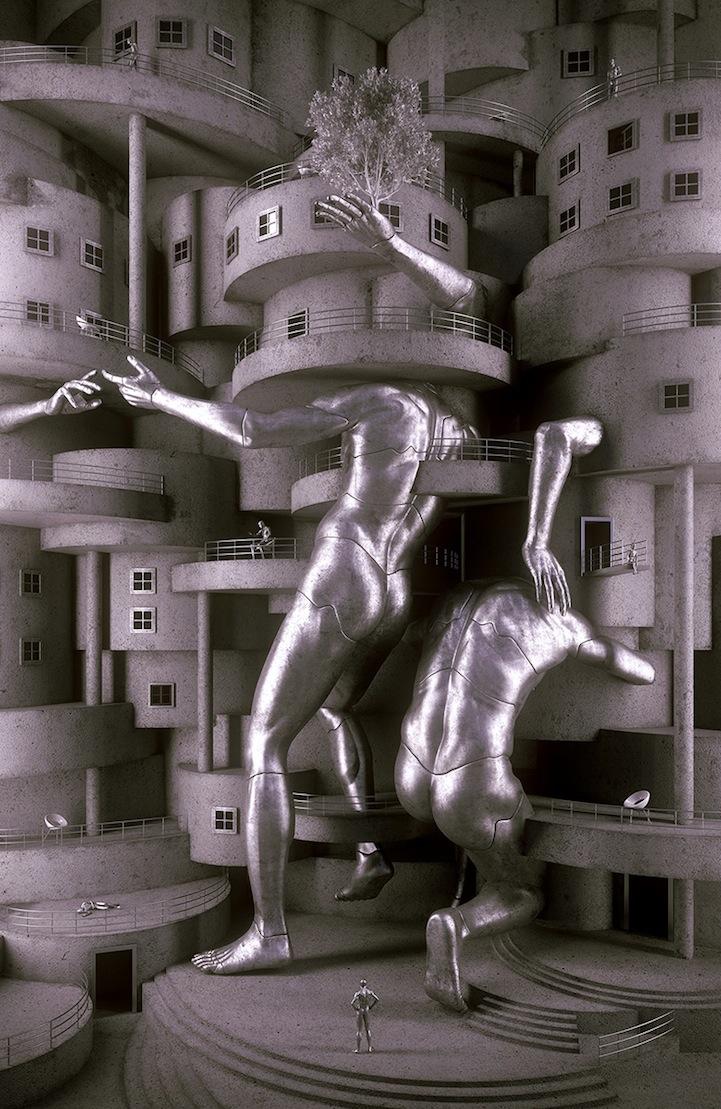 c9ecff8aa6 Masterful Digital Art Sculptures
