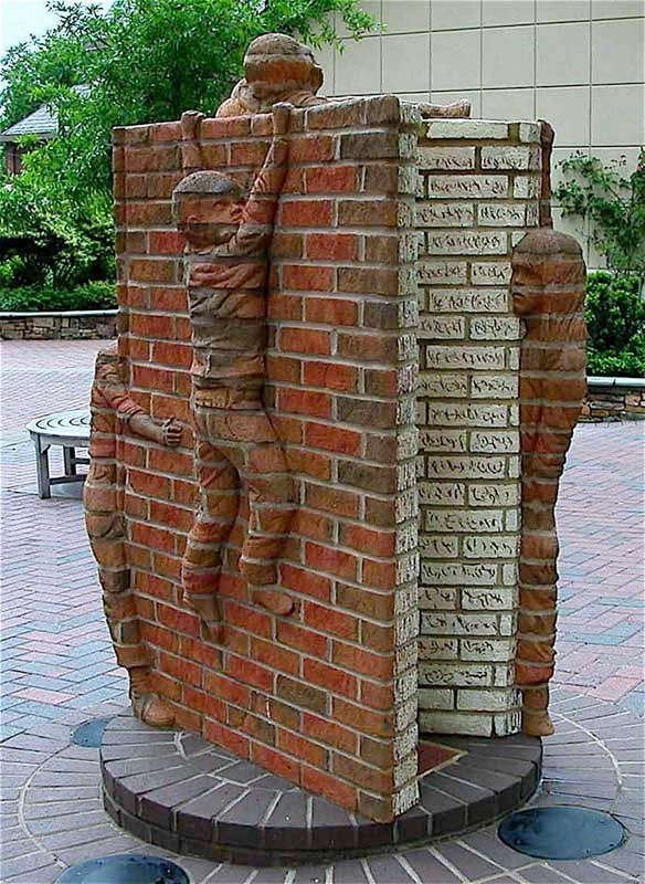 Incredible Brick Sculptures By Brad Spencer
