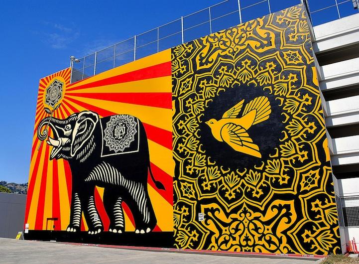 15 Massive Street Art Murals Around the World