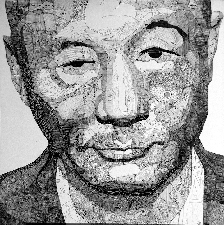 Incredible Doodle Portraits - photo#22