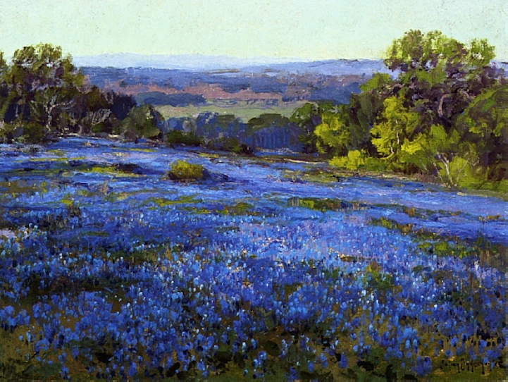 Breathtaking Impressionist Paintings Of Bluebonnets By