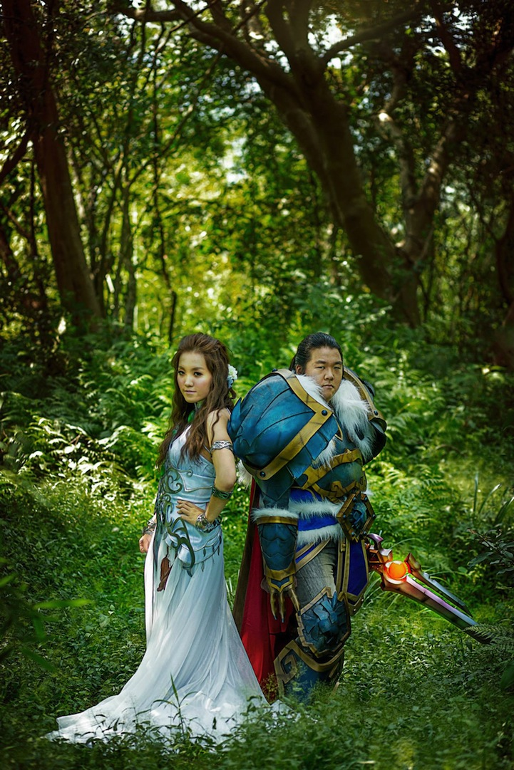 Check My Credit >> Cosplaying Couple Has a World of Warcraft Themed Wedding