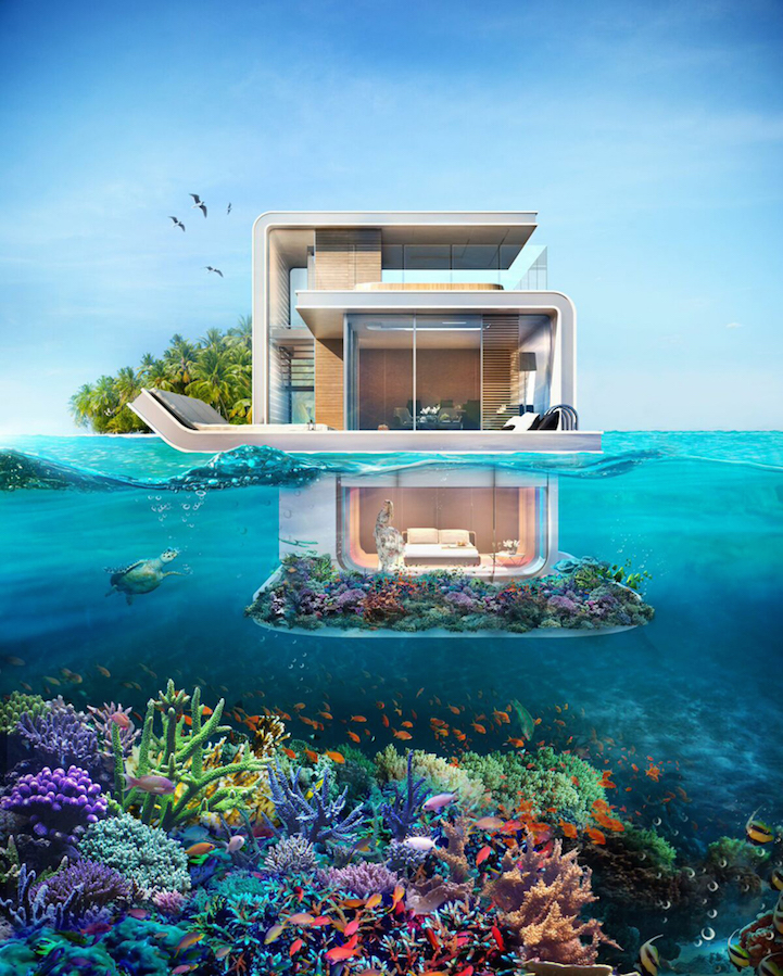 Luxury Yacht with Underwater Rooms Boasts Amazing Views of Ocean Life