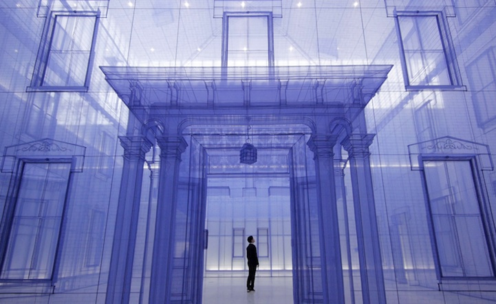 architectural installation art Do Ho Suh