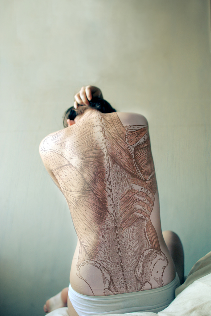Stunning Human Anatomy Self Portrait