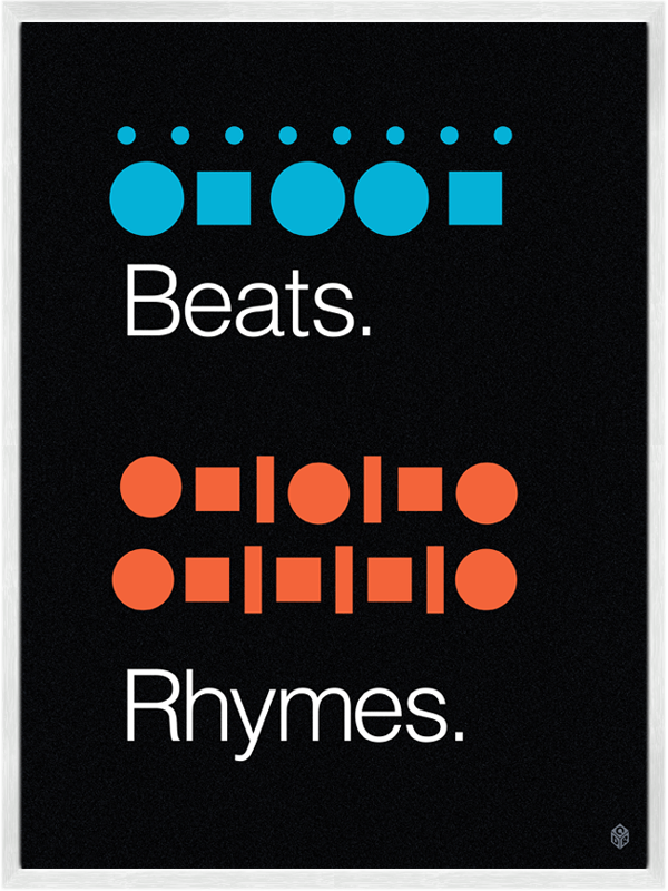 clever posters for the music lover